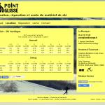 Site de Point Glisse