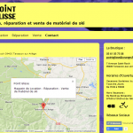 Site Internet Point Glisse - Contact