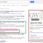Résultat de recherche Google pour gère ton web à Ax les Thermes